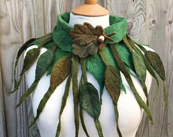 Custom Made to order, Fairytale Vest, festival clothing, renaissance costume, faerie clothing, pagan clothing, felt vest, womans coat