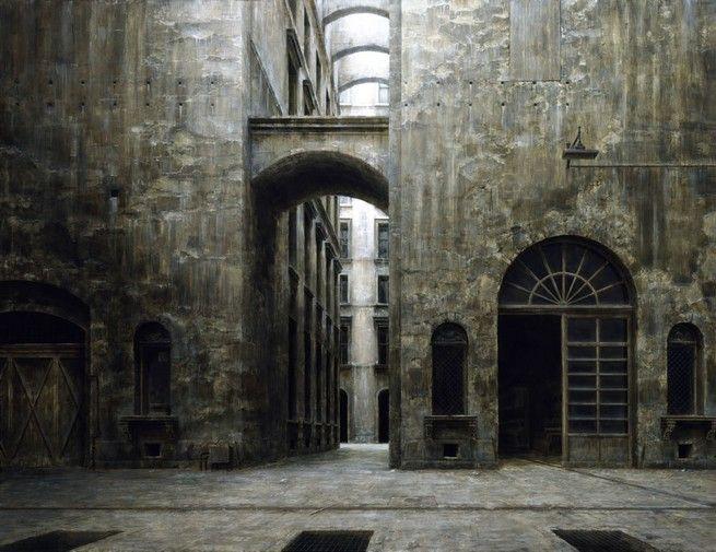 Мрачные картины несуществующего города