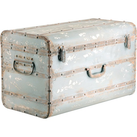 Ingersley Trunk- Love this vintage feel for a girl or boys room