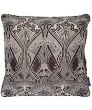Grey and White Ianthe Cushion