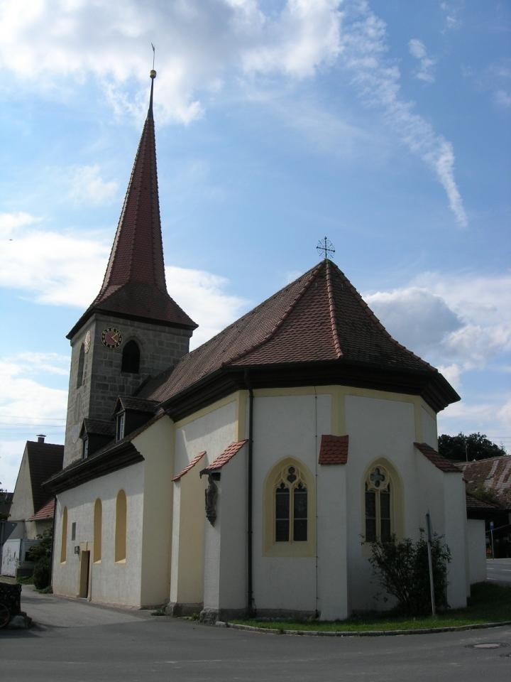Weisendorf-Rezelsdorf, Evan.Luth. Filialkirche St. Katharina (Erlangen-Höchstadt)
