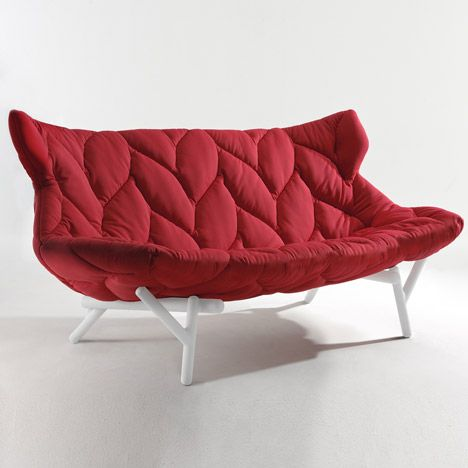 like the stitched leafy pattern + it looks comfy :) ...i wonder if comes in green too #PatriciaUrquiola