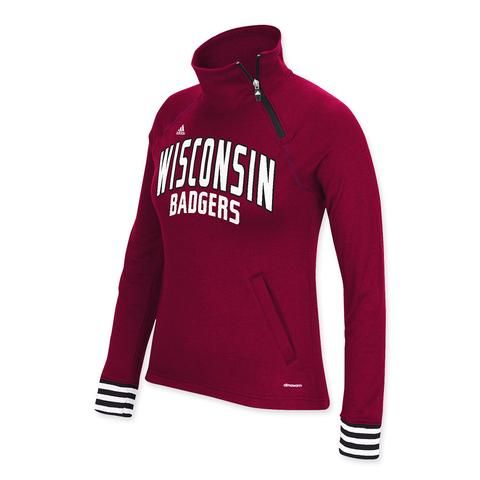 Wisconsin Badgers Womens Pullover