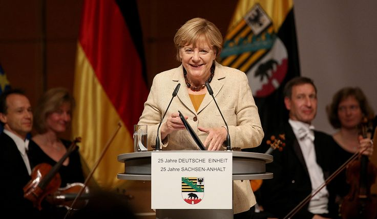 """Top News: """"GERMANY: Chancellor Angela Merkel Marks 25th Anniversary Of German Reunification"""" - http://www.politicoscope.com/wp-content/uploads/2015/10/Germany-Headline-News-Chancellor-Angela-Merkel-Marks-25th-Anniversary-Of-German-Reunification.jpg - Mrs Merkel was attending a ceremony in Frankfurt's cathedral with President Joachim Gauck and other dignitaries.  on Politicoscope - http://www.politicoscope.com/germany-chancellor-angela-merkel-marks-25th-anniversary-of-german-r"""