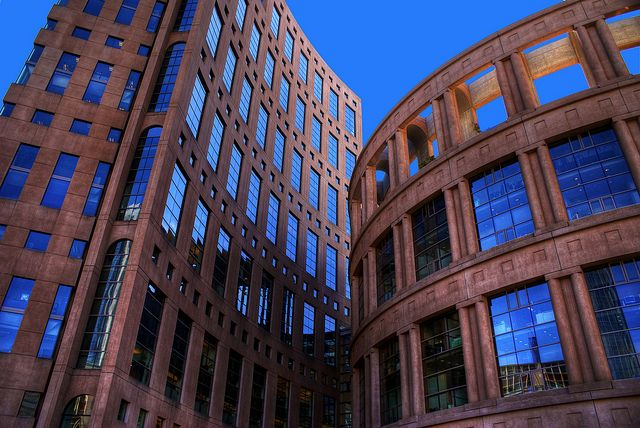 The Vancouver Public Library (HDR) by Brandon Godfrey, via Flickr
