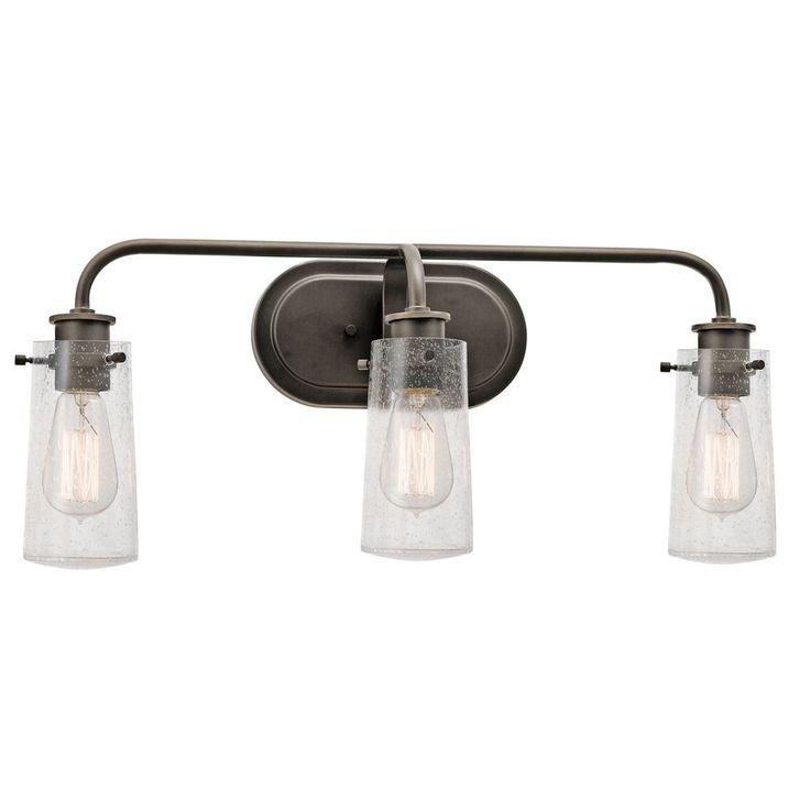 Bathroom Vanity Lighting Fixtures Lowes 74 best lighting images on pinterest | nickel finish, bathroom