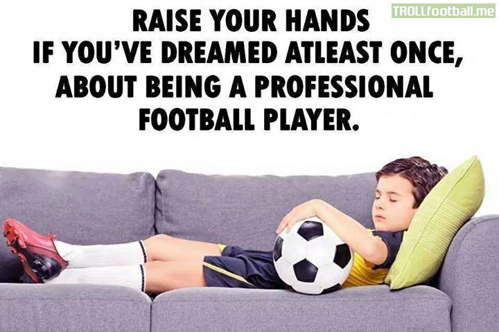 Who did (or do) you dream of playing for?