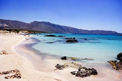 best beach I've ever been on  (elafonisi beach, crete)