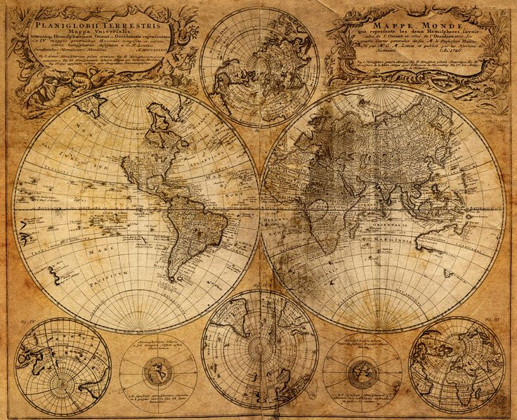 23 best old world map printable images on Pinterest Antique world - best of world map white background