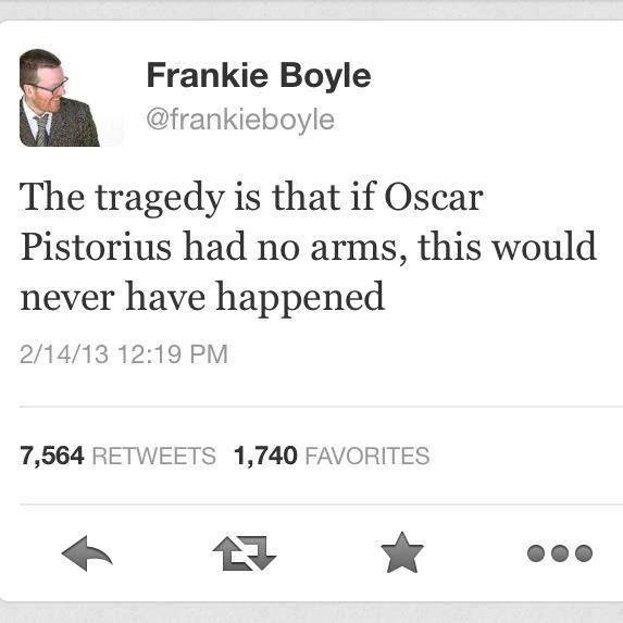 Typical Frankie Boyle...