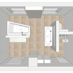 Ber ideen zu moderne badezimmer auf pinterest modernes badezimmerdesign duschen und - Moderne badezimmer grundrisse ...