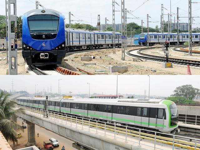 Slideshow : Chennai Metro beats Namma Metro - Why Chennai Metro may have outdone Namma Metro of Bengaluru - The Economic Times