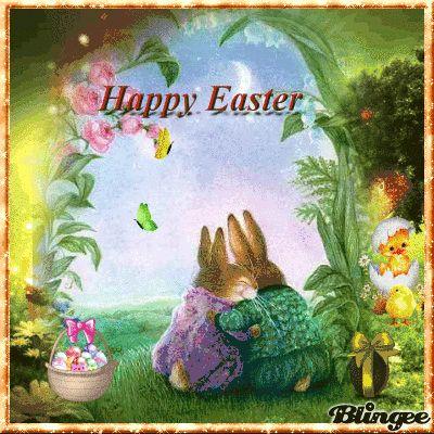 Frohe Ostern meine lieben Freunde