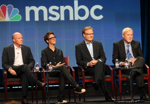 MSNBC abandons GOP convention during every speech by a minority...shame on them.
