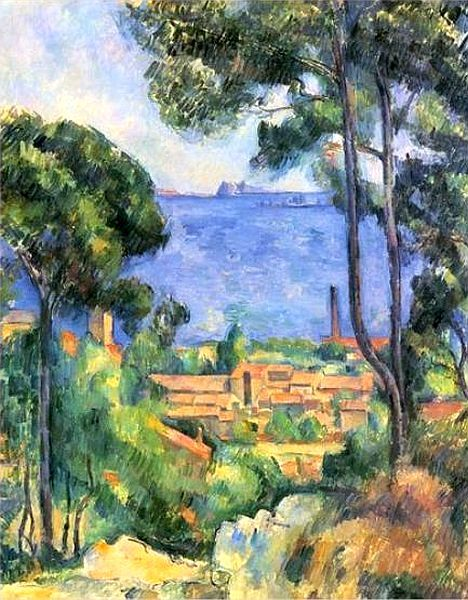 Estaque  Paul CEZANNE