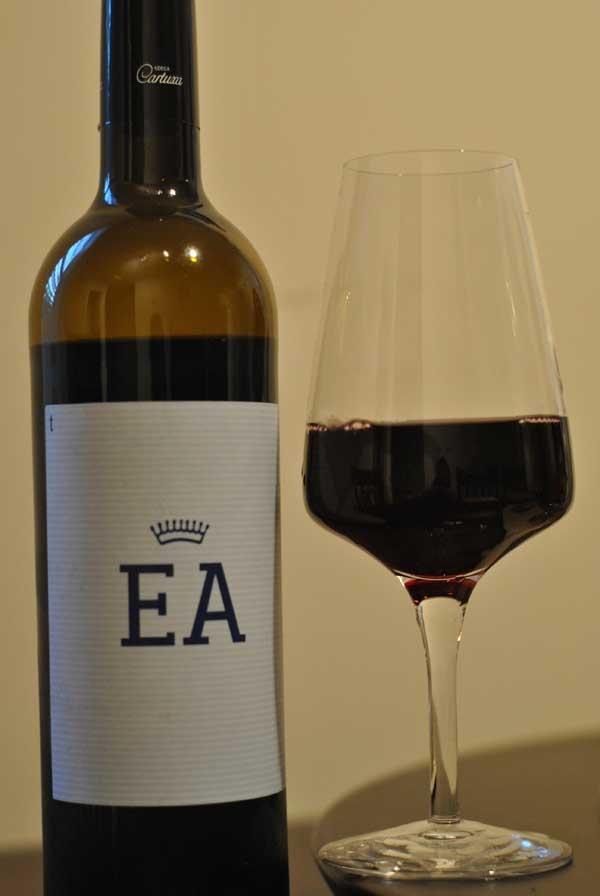 Red wine from alentejo