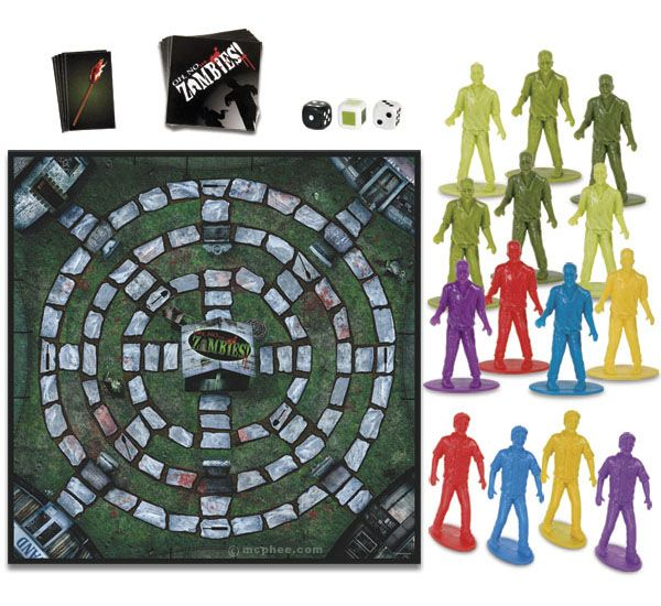 Oh No…Zombies! Board Game