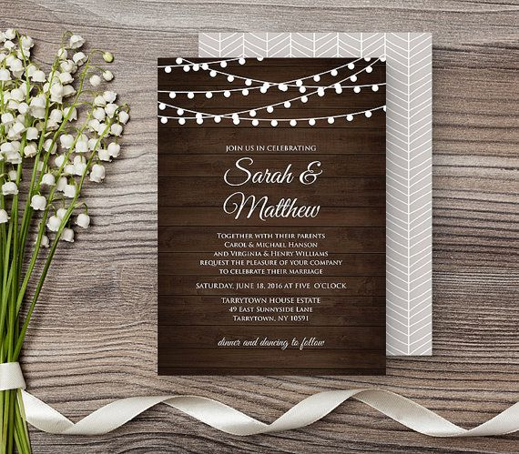 12 best Wedding Invitations images on Pinterest Bridal invitations - best of wedding invitation design download