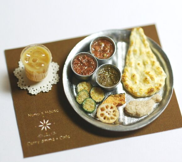 miniature indian cuisine                                                                                                                                                                                 もっと見る