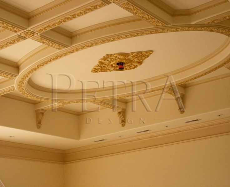 Oval Ceiling Centerpiece coffered ceiling ceiling design