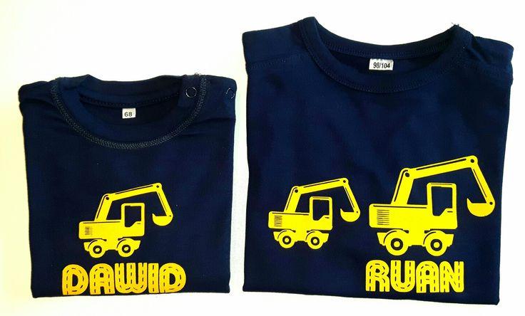 Kleine broer/grote broer shirt met zelfgekozen afbeelding/naam www.suuzzo.nl
