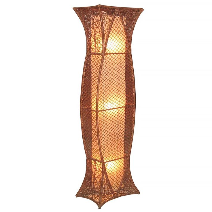 Crafted Home Decorative Pittsburg Geometric Transitional Floor Lamp