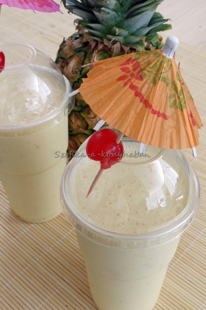 Szofika a konyhában...: Pina colada smoothie
