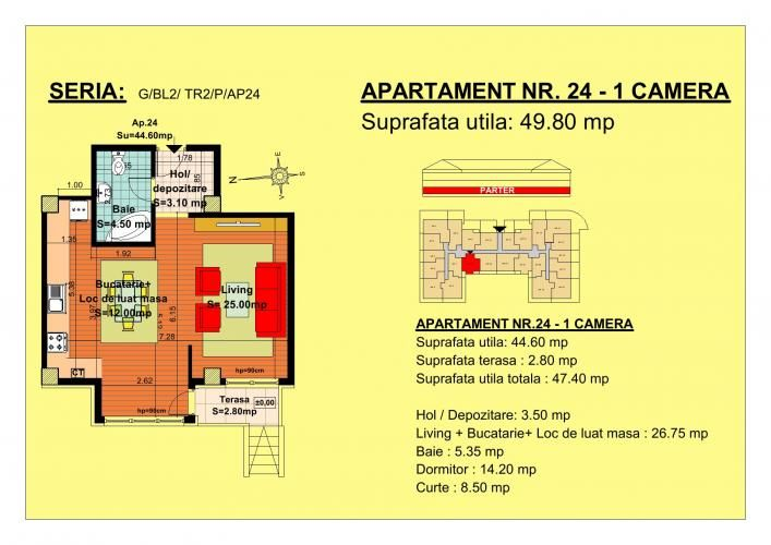 Vand garsoniera, parter, zona Tractorul-Brasov  Situate pe strada Nicolae Labis nr 52, blocurile sunt construite pe un regim de inaltime de P+2 E + Mansarda, cu 2 lifturi si sunt realizate arhitectural cat sa permita acelasi grad de lumina in toate apartamentele.  Acceptam orice forma de plata: Cash, Credit Ipotecar, Prima Casa sau Rate la Dezvoltator.( cu un avans de 10000 euro- 5000 la achizitie si 5000 la mutare, rate de 600 euro, perioada maxima 7 ani) Garsonier