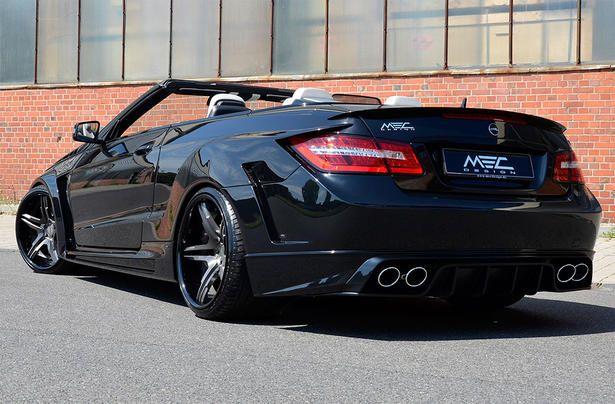 Mercedes E Class Cabrio Cerberus by MEC Design
