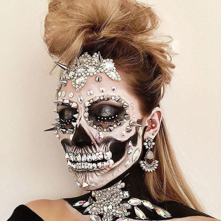 halloween schminken skelett vorlagen. Black Bedroom Furniture Sets. Home Design Ideas