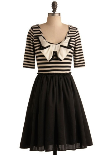 nautical: French Bows, Red Lipsticks, Sailors Dresses, Summer Day, Modcloth 47 99, Nautical Dresses, Canal Dresses, Nautical Bows, Breezi Summer