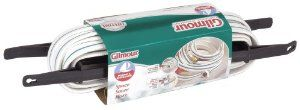 Gilmour 11 Series Marine & Recreation Space Saver Flat Hose w/Reel 1/2 Inch x 50 Feet 11-12050RWhite w/Aqua Stripe by Gilmour. $36.05. Full-flo brass couplings for unrestricted water flow. Quality reinforced vinyl construction. FDA approved liner material for drinking water safety. Easy to store. From the Manufacturer                Gilmour's marine and recreation space saving flat hose is easy to store. Ideal for boating and camping.                                    Prod...