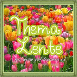 www.juf-lisanne.nl Thema lente reken en  taal / woordenschat activiteiten voor kleuters.
