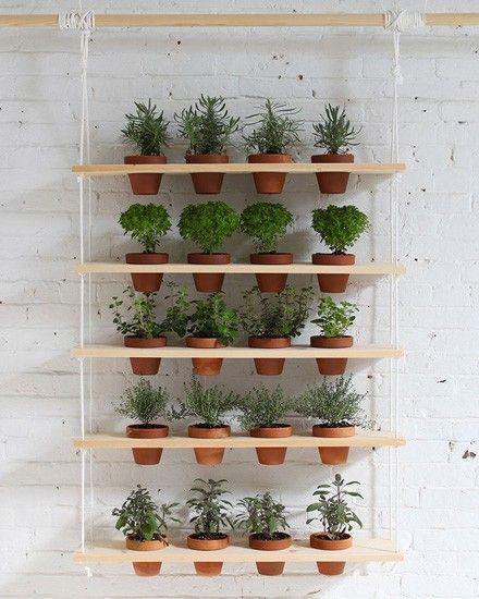 Shake My Blog | Un jardin suspendu DIY