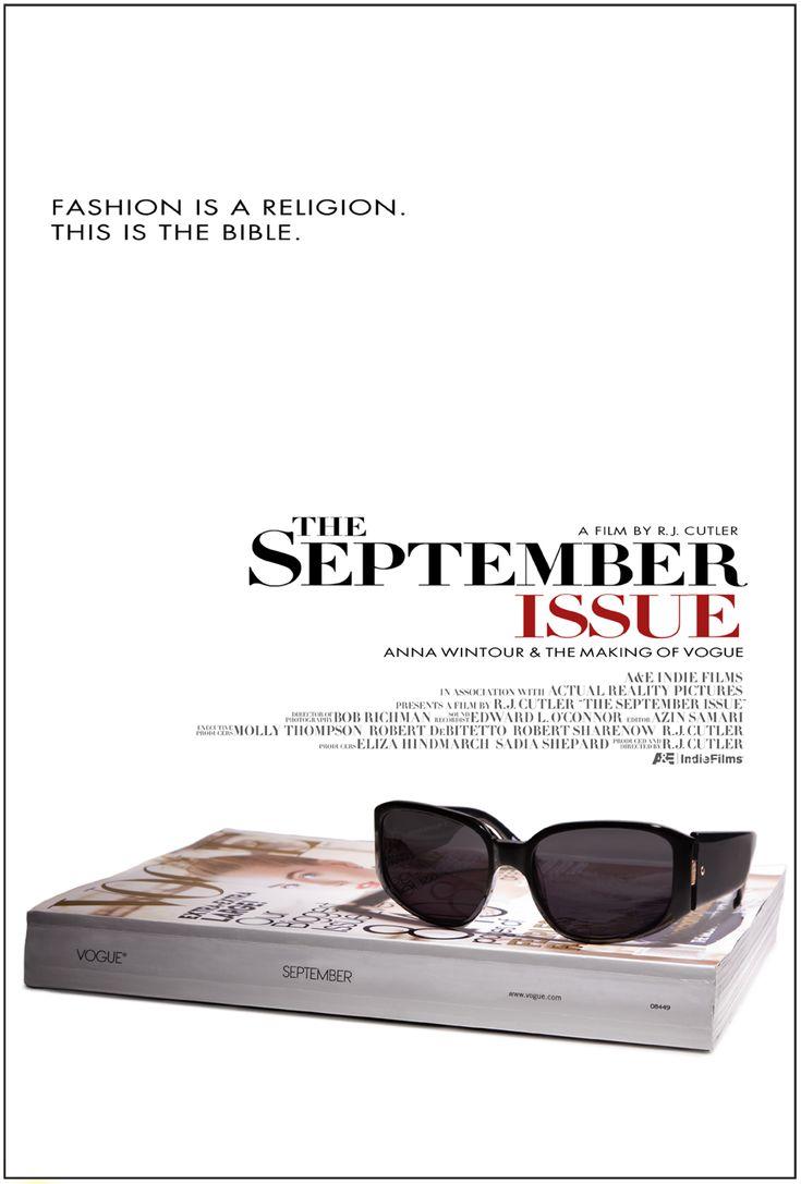 The September Issue #fashion #movies http://cuchurutu.blogspot.com.es/2014/05/felizlunes-10-peliculas-sobre-moda-que.html