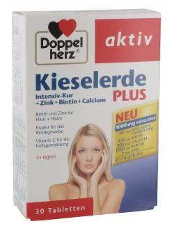 myTime.de Angebote Doppelherz aktiv Kieselerde Plus Intensiv-Kur + Zink + Biotin + Calcium Tabletten: Category: Drogerie >…%#lebensmittel%