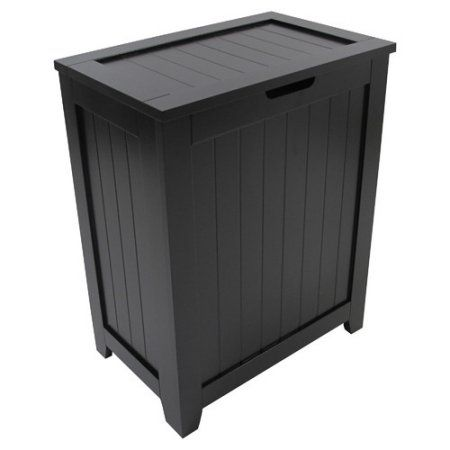 Buy Redmon Contemporary Country Cabinet Laundry Hamper at Walmart.com