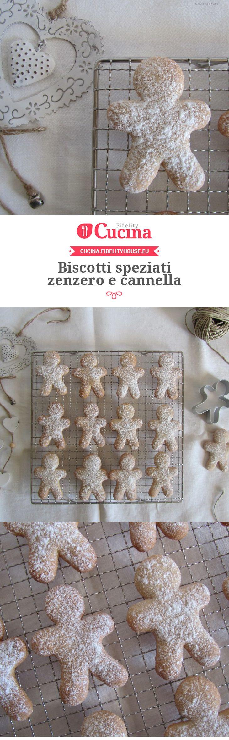 Biscotti speziati zenzero e cannella della nostra utente Francesca. Unisciti alla nostra Community ed invia le tue ricette!