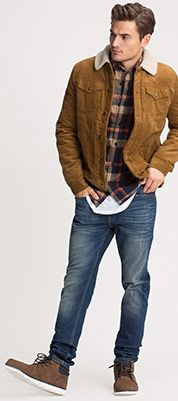 Flanellhemd Regular Fit in multicolored plaid