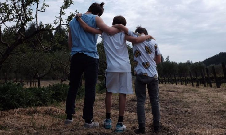 """He's not afraid to show his love  The aspiring photographer posted a tender moment with his brothers Romeo and Cruz on his Instagram account for his over 7 million followers to see. He captioned the photo of the trio holding one another, """"Always bros,"""" adding a red heart emoji."""