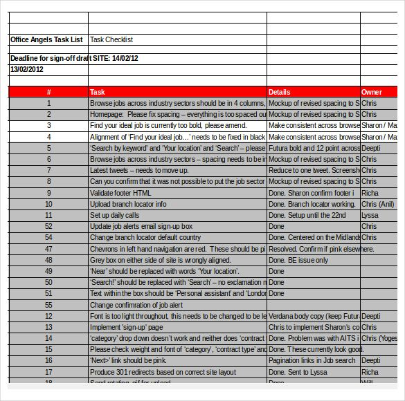 10 best checklist templates images on pinterest checklist template create the checklist templates to categorize your tasks with their due date together with how important yelopaper Choice Image