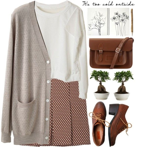 It's too cold outside. by evangeline-lily on Polyvore featuring Organic by John Patrick, Marni, Miz Mooz and The Cambridge Satchel Company