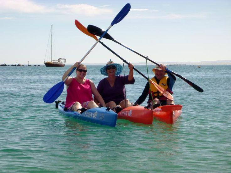 The three oar salute Front Beach Geraldton