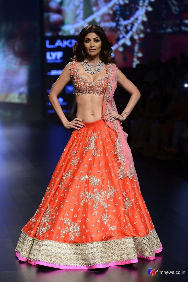 Shilpa Shetty at Lakme Fashion Week