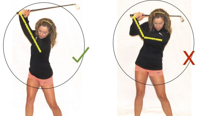 Optimize Your Game-Focus Golf Swing on Your Lead Arm - KPJ Golf by Karen Palacios-Jansen