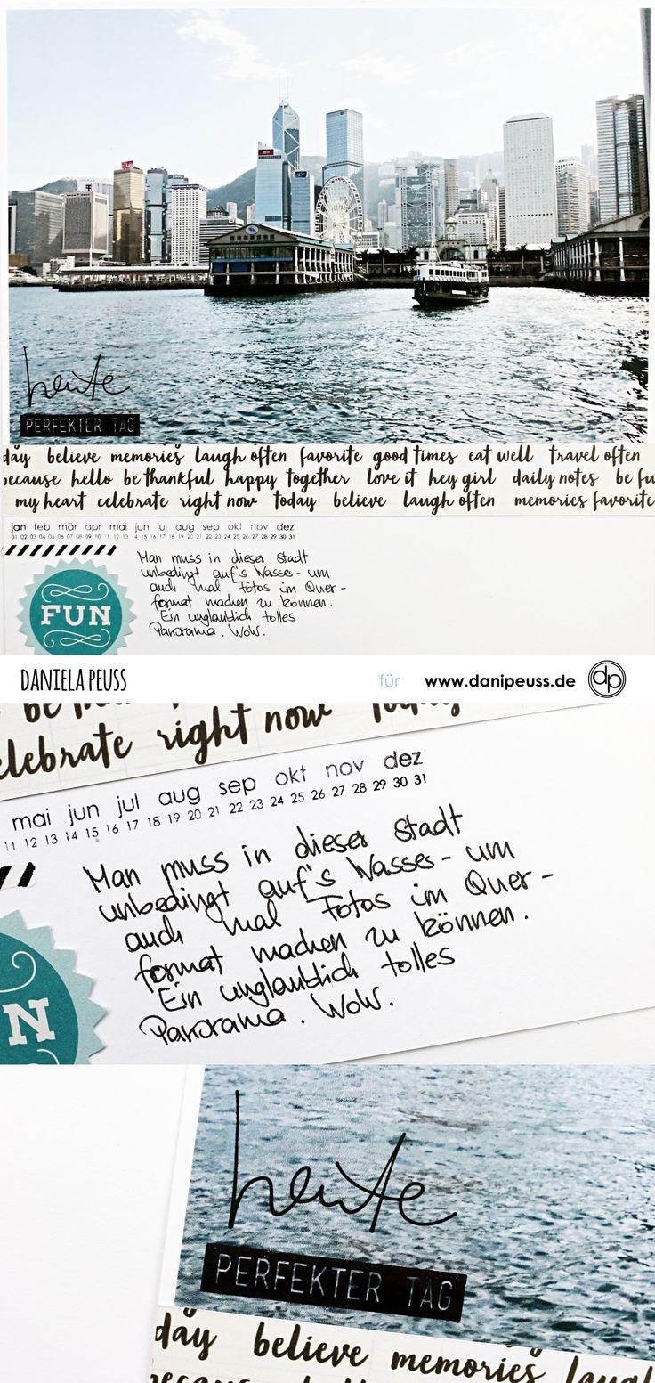 Fotos im Querformat | Scrapbooking Layout mit dem Junikit | von Dani für www.danipeuss.de