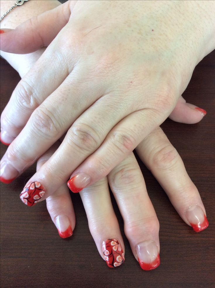 Nails by Ann done at Tangles Hair Studio and Day Spa Red Deer Alberta. www.tangleshairandspa.ca or www.nailsbyanneducation.ca