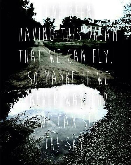 We can fly