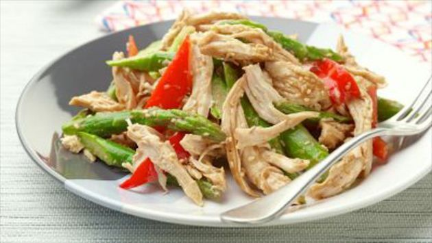Get this all-star, easy-to-follow Chinese Chicken Salad recipe from Ina Garten
