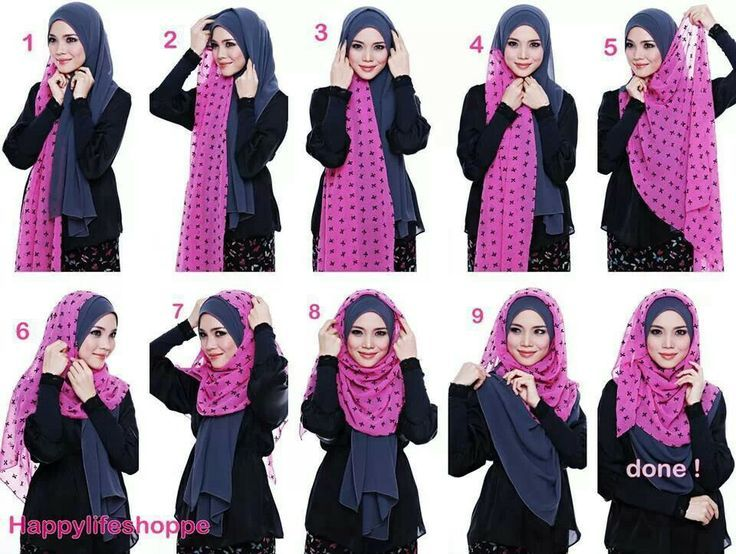 17 Best Images About Scarf Tying Ideas On Pinterest Hijab Tutorial Simple Hijab Tutorial And